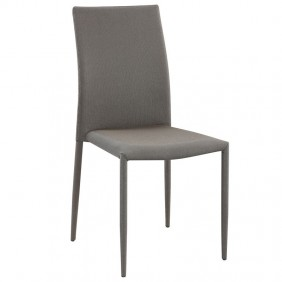 Pack 2 sillas Kursa tela marrón