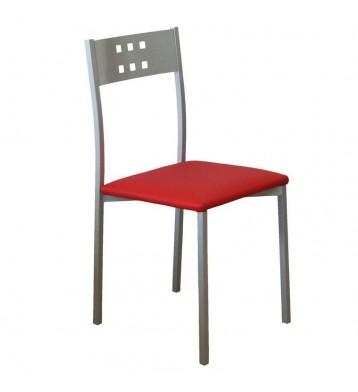 Pack 2 sillas Costa cocina rojas