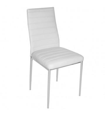 Pack 4 sillas salón blancas Tavata comedor