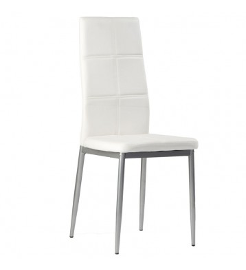 Pack 4 Sillas Corpa Comedor Blanco Gris