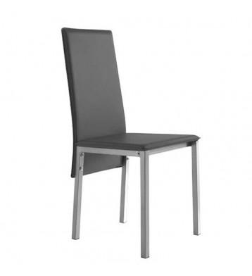 Pack 2 sillas comedor modernas gris