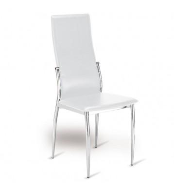 Pack 2 sillas comedor blancas Varna