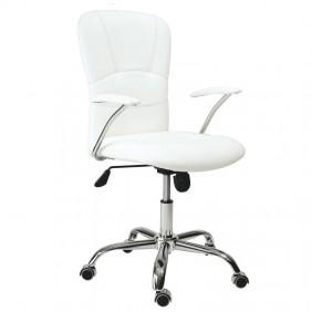 Sillon de escritorio blanco