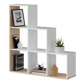 Estantería librería escalera Taris 110x108x28 cm