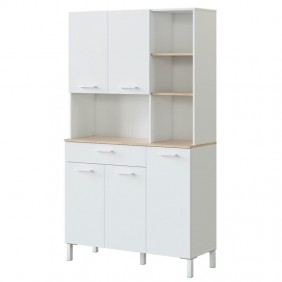 Mueble cocina auxiliar alto 5 p Yuka 186x108x40