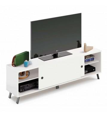 Mueble de TV Kamet blanco...