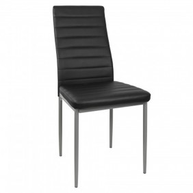 Sillas Tavata color negro salon comedor 98x48x42