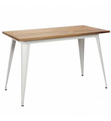Mesa cocina blanca estilo...