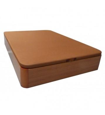 Canapé base tapizada 90x190 cerezo