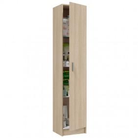 Armario 37x182 multiuso 1 puerta roble