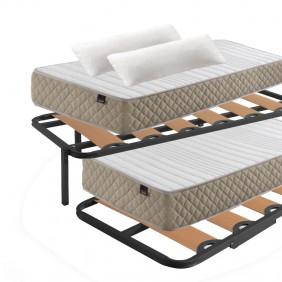 Pack ahorro KANGU cama canguro + colchones + almohadas
