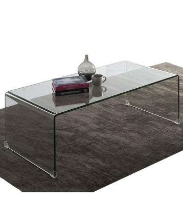 Mesa de centro cristal...