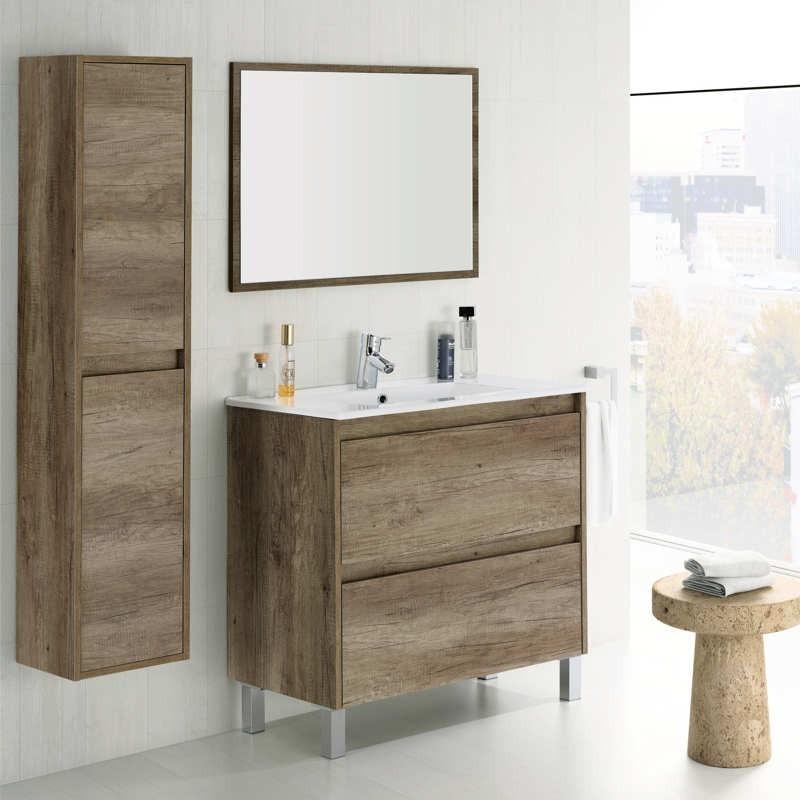 Columna de baño. Color Nordik