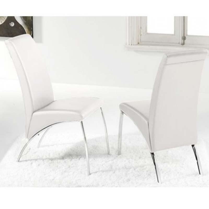 Pack 2 sillas Arco blanca