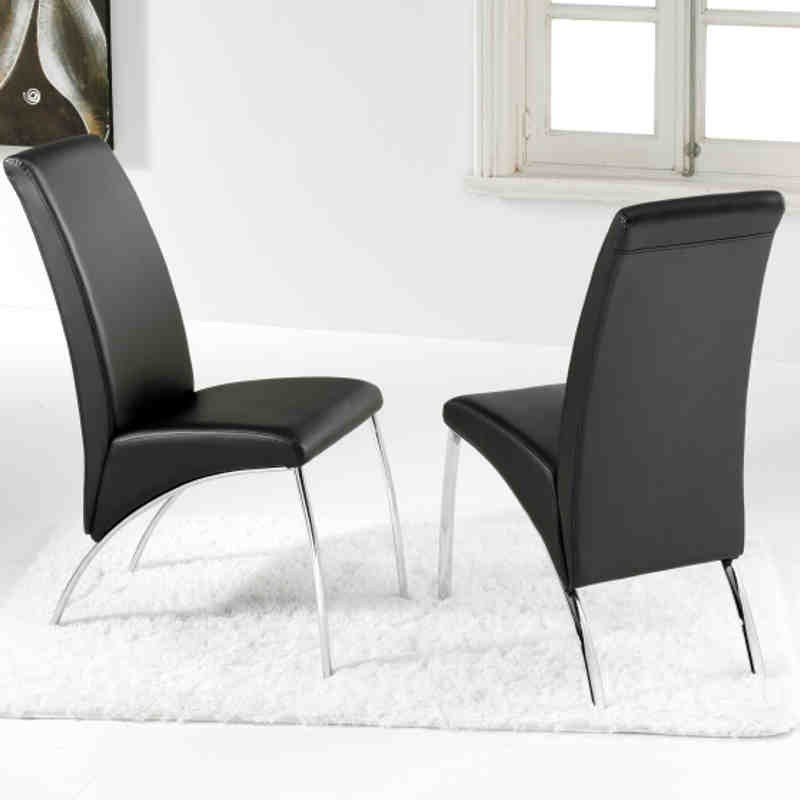 Pack 2 sillas Arco negro