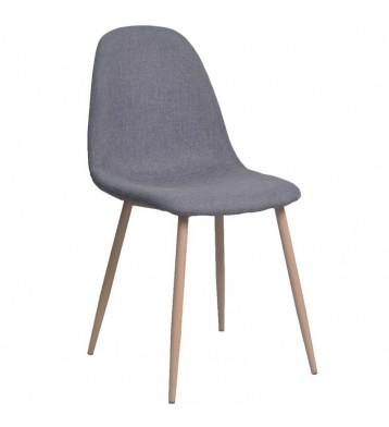 Pack 4 sillas Iena diseño moderno color gris