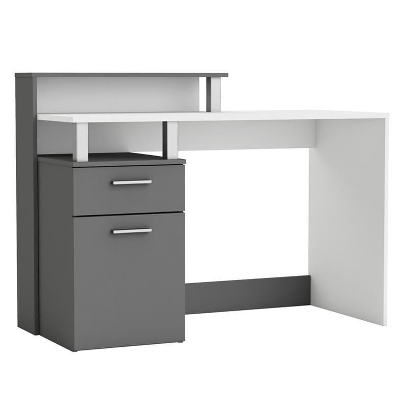 Mesa escritorio Oracle 1 puerta 1 cajon 1 estante