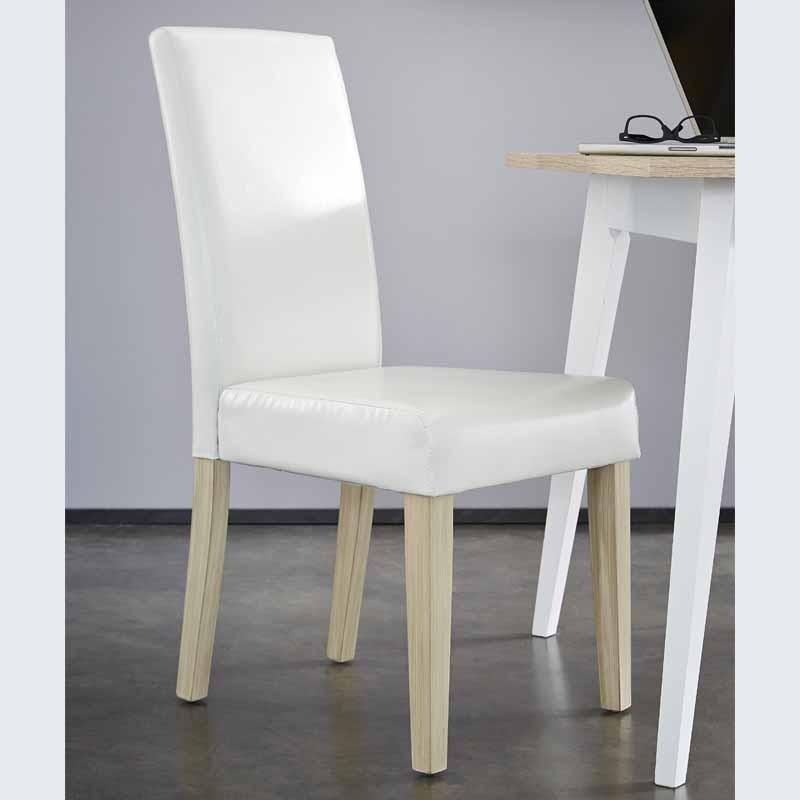 Pack 4 sillas blancas salon Guevara