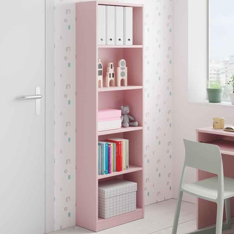 Pack habitación juvenil completa color rosa y blanco