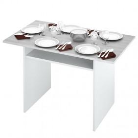 Mesa desplegable Table consola diseño cemento 120x35x77 cm