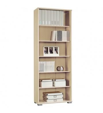 Librería estantería Duna 2 color haya 75x33x199 cm