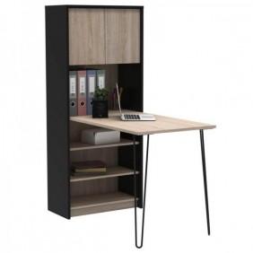 Mesa con estantería escritorio Lex 120x63