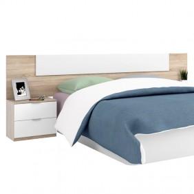 Cabecero con mesillas habitación matrimonio 135/150 cm