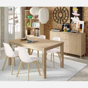 Salon moderno Noruega comedor 4 sillas