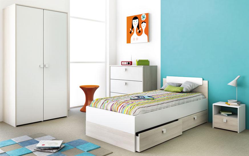 Muebles juvenil para habitaci n muy peque a 7 tips blog - Muebles para habitacion pequena ...