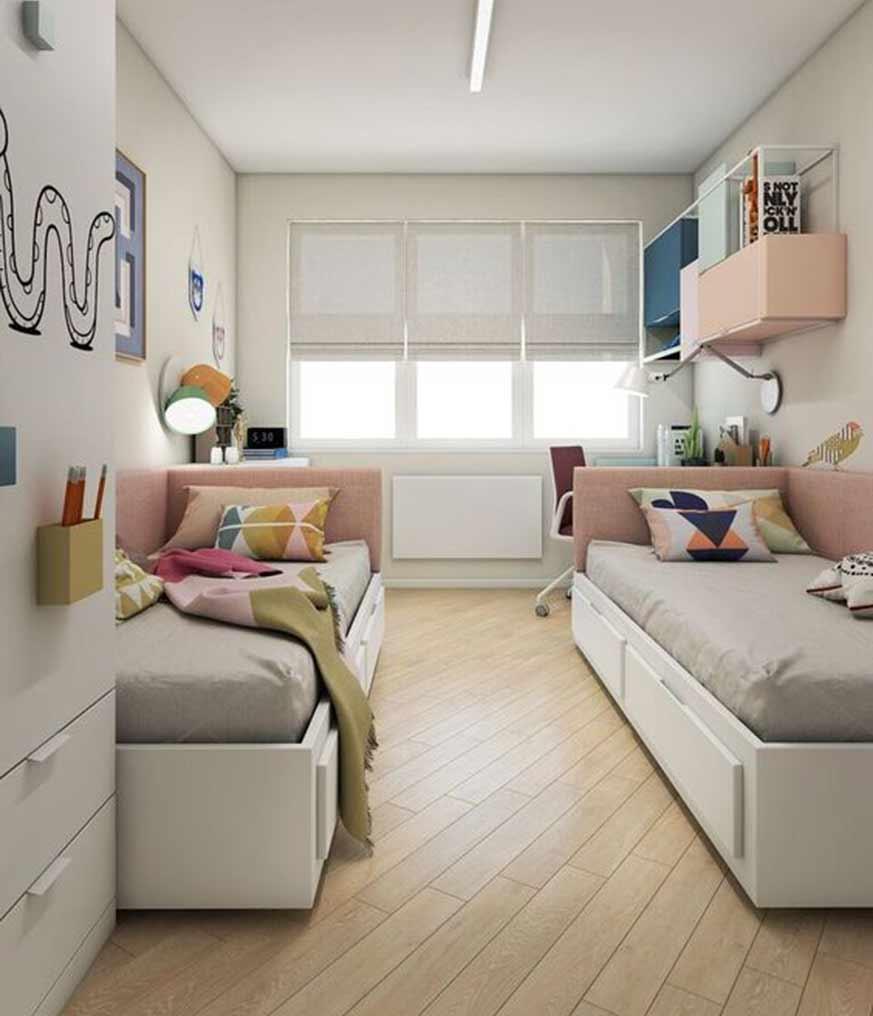 Habitación para dos niños o adolescentes