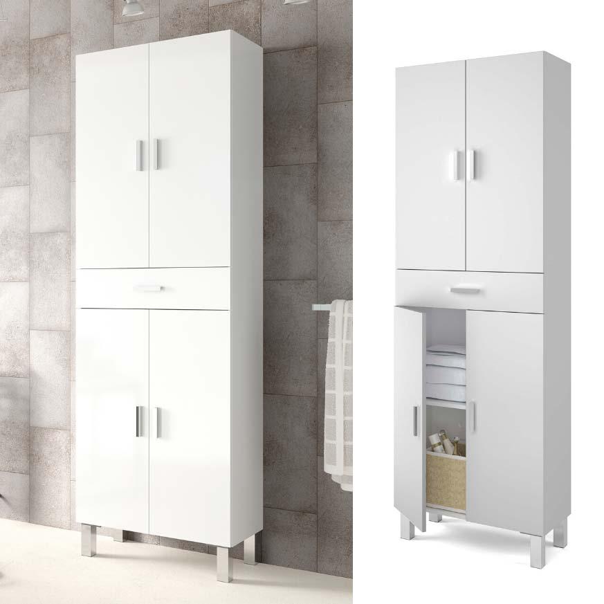 Muebles para guardar toallas en el baño y accesorios - Blog ...